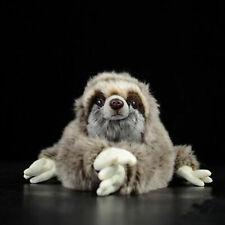 30cm Lifelike Three Toed Sloth Plush Toy Soft Stuffed Animal Doll S2