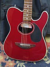 Fender Telecoustic Acoustic Electric Thinline Guitar W/Fender Gig Bag