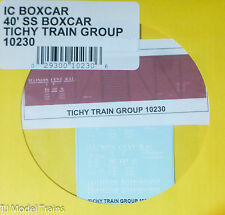 Tichy Train Group #10230 Decal for: Illinois Central 40' Single-Door Single-Shea