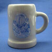 Chicago 2000 Shot Glass Beer Mug Toothpick Holder Stoneware