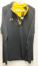 Under Armour UA Golf Outerwear Pullover Half Zip Black Steeltown Gold Steelers L