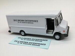DECALS for Greenlight Delivery Van to make BTTF Doc Brown van