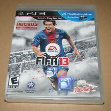FIFA 13 (Spanish Version) PlayStation 3 Brand New / Fast Shipping