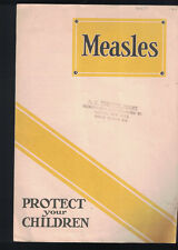 Measles Protect Your Children Metropolitan Life Brochure 1930