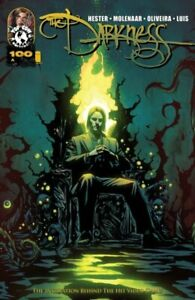 DARKNESS #100 COVERS A-E WITH COVER E SIGNED BY MARC SILVESTRI TOP COW NM.