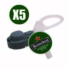 5 Tubes Beertender pour Tireuse Machine à Bière Seb ou Krups
