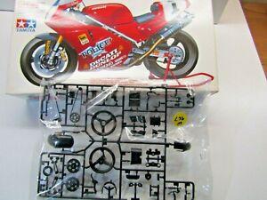 "Tamiya 1:12 Scale Ducati 888 Superbike Racer Sprue ""B"" Black Parts Only"