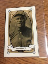 1992 POP LLOYD SPORTS CARDS NEWS OLD TIME TOBACCO CARD REPRINT NEW YORK GIANTS