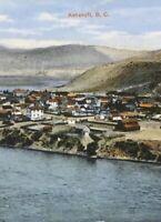 Postcard, Ashcroft B.C. Canada, Hand Tinted Vintage P19