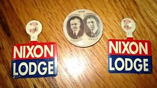 "Vintage ""COOLIDGE DAWES""  Set of 1 Pinback Button .and 2 Political Memorabilia"