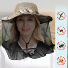 Anti-Mosquito Bug Fly Bee Insect Head Net Hat Cap Sun Protection Fishing Hiking