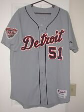 Detroit Tigers Darensbourg Game Used 2005 Baseball Jersey - MLB All-Star Patch