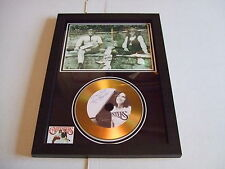 THE CARPENTERS  SIGNED  GOLD CD  DISC