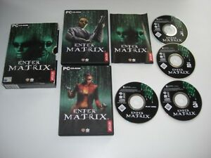 ENTER THE MATRIX Pc Cd Rom BOXED - FAST POST