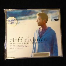 NEW SEALED Cliff Richard - Can't Keep This Feeling In CD 2 of 2 Made in England