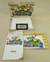 Super mario advance 2 Gameboy GBA authentic game boy box manual Nintendo Japan