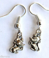 cute mouse tiny rodent EARRINGS Jewellery
