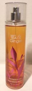 Bath & Body Works Fine Fragrance Mist. White Tea & Ginger. Full size