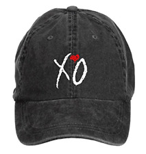 Official Issue Xo The Weeknd Ovoxo Men's Cotton Washed Baseball Cap Hats