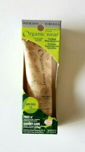 Physician's Formula Organic Wear Tinted Moisturizer Paraben Free SPF 15 ~ 2156!!