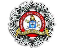 4x4 inch Dublin Fire Brigade Sticker - decal fire firefighter ireland irish