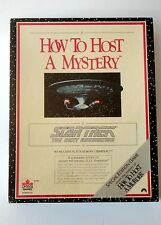 STAR TREK THE NEXT GENERATION HOW TO HOST A MYSTERY PARTY GAME SPECIAL EDITION