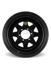 ROH Wheel 15X7 Trak 2 (Sunraysia) Black [For: Toyota Landcruiser 75 Series]