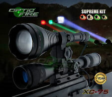 Opticfire XC-75 LED Supreme hunting torch gun light lamp lamping kit T67 killer