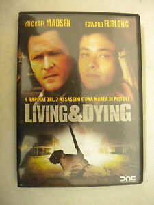 DVD LIVING & E DYING con MICHAEL MADSEN