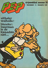 PEP 1975  nr. 32 - WALHALLA (ASTERIX, POSTER) / OLIVIER BLUNDER (COVER)
