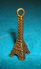Pendant Eiffel Tower Charm Bronze Eiffel Tower Charm Paris Charm French Charm Oi
