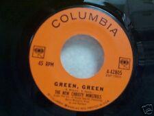 "NEW CHRISTY MINSTRELS ""GREEN GREEN"" 45"