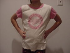 VERY CUTE Minnesota Twins Girls Sz 12/14 Pink & White Cotton T-Shirt, VERY NICE!