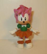 """Amy 2.5"""" Jazwares Action Figure Sega Capcom Sonic The Hedgehog"""