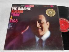 VIC DAMONE Closer Thank a Kiss '59 COLUMBIA ORIG STEREO JAZZ VOCAL LP NICE