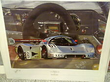 Sauber Mercedes C9 #61 1989 Baldi / Acheson / Brancatelli Le Mans by Hesselbes