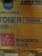 Genuine Konica Minolta TN324M MAGENTA TONER CARTRIDGE BIZHUB C368 C308