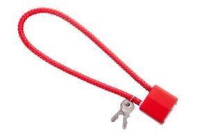 """(BULK) GunMaster 15"""" Hardened Steel Cable Lock (CA DOJ Approved)"""