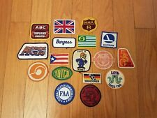 VINTAGE MIXED PATCH LOT - ADVERTISING