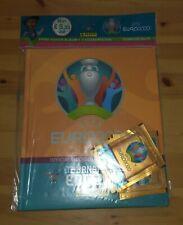 PANINI EURO 2020 TOURNAMENT ~ STARTER PACK HARDCOVER ALBUM cartonato + 3 bustine