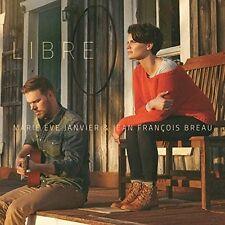 Marie-Eve Janvier Et Jean-Francois Breau - Libre [New CD] Canada - Import
