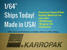 1/64 6x9 Paper Gasket Material Engine Car Truck Carburetor Gas Oil marine boat