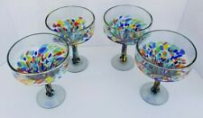 MARGARITA GLASSES CONFETTI  SET OF 4