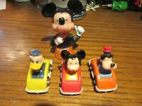 Vintage Disney Characters  Roller Coaster From Fun Castle