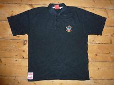 Southampton Camiseta de Fútbol XL Negro Polo Camiseta de Fútbol Soton Maglia