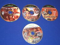 Lot of 3 Xbox Fighting Games Jade Empire w/ Bonus Disc Dead or Alive Yu Gi Oh