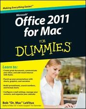 Office 2011 for Mac For Dummies LeVitus Paperback