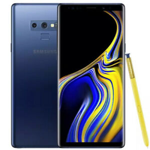 "SAMSUNG GALAXY NOTE9 N960F/N960U 6gb 64gb Fingerprint 6.4"" Android 10 LTE NFC"