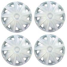 "4x Silver 16"" Inch Deep Dish Van Wheel Trims Hub Caps For Vauxhall Vivaro"