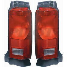 Grade A OE Quality DOT SAE Left & Right Tail Lights 1987-1990 Plymouth Voyager